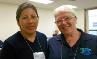 Alicia Lucasi and Dorothy Sherman at NWYM.jpg