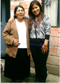 Ani and her mother Juana