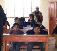 Very Young Bolivian Quaker students