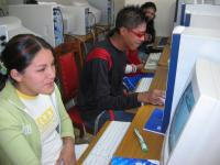 Max Paredes students and computer lab 2